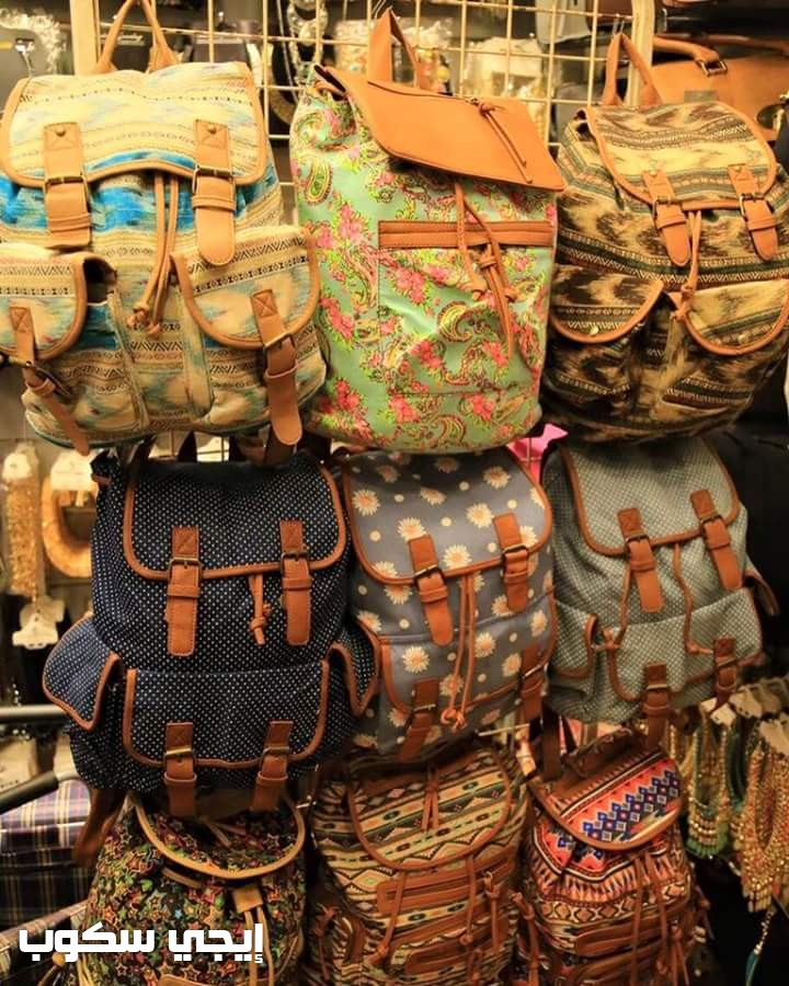 0e4f497f98407 صور حقائب الظهر النسائية وألوان الشنط الباك للبنات بمختلف الأشكال ...